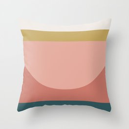 Maximalist Geometric 03 Throw Pillow