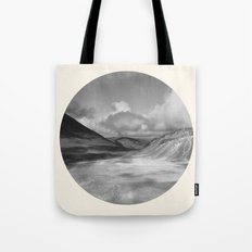 Life Is A Journey (Black & White) Tote Bag