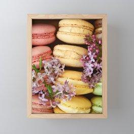 Pretty Macaroons Framed Mini Art Print