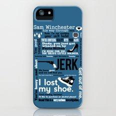 Supernatural - Sam Winchester Quotes Slim Case iPhone (5, 5s)