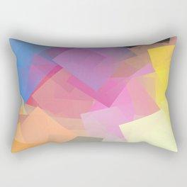 Cubism Abstract 196 Rectangular Pillow