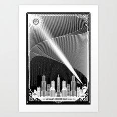 Superheroes SF Art Print