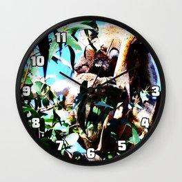 Cradling Joey Wall Clock