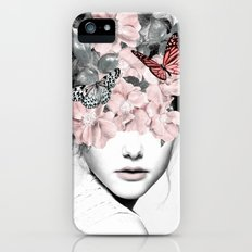 WOMAN WITH FLOWERS 10 iPhone (5, 5s) Slim Case