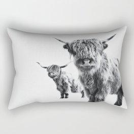 HIGHLAND COW - LULU & SARA Rectangular Pillow