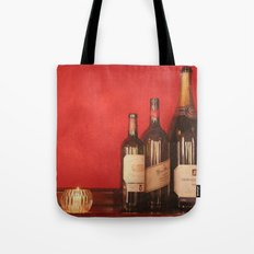 Wine on the Wall Tote Bag