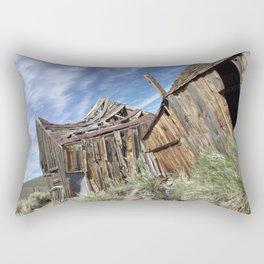 Ghost town time standing still Rectangular Pillow