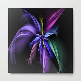 Fractual Flower Metal Print
