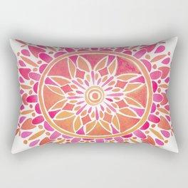 Mandala – Pink Ombré Rectangular Pillow