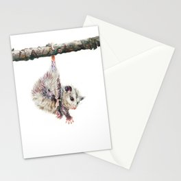 Opossum Stationery Cards