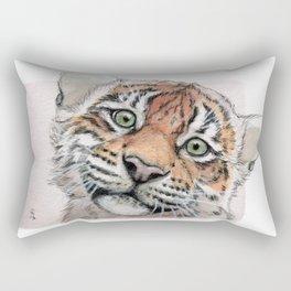 Tiger Cub 887 Rectangular Pillow