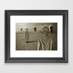 clear targets Framed Art Print