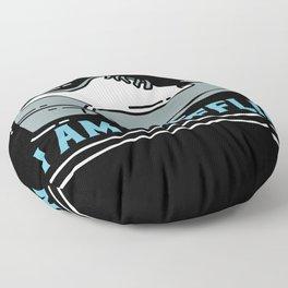 Everyday I Am Shufflin Floor Pillow