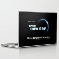 brand new Laptop & iPad Skins featuring Brand New Day by politics