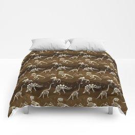 Fossil Dinosaur Pattern Comforters