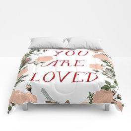 You Are Loved Comforters
