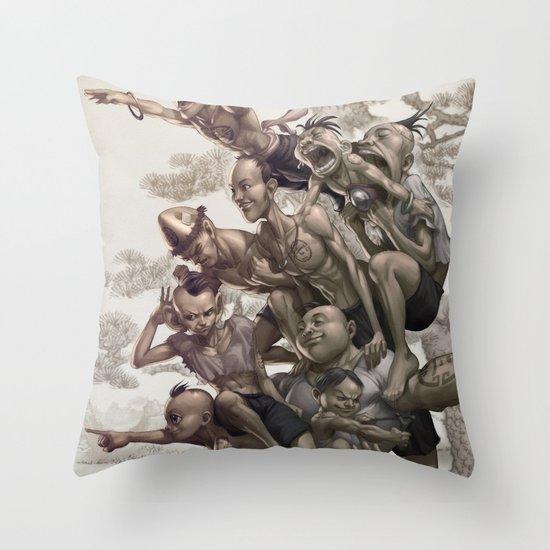 Ten Brothers Throw Pillow