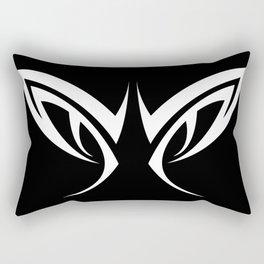 Tribal Eyes Tattoo Rectangular Pillow
