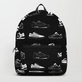 Black Sneaker Backpack