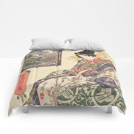 Geisha women Comforters