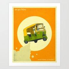 Everything Is Possible (sab kuch milega) Art Print
