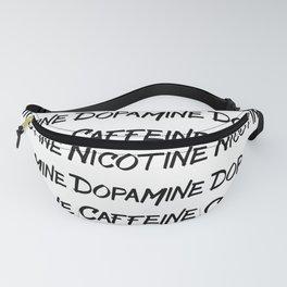 CAFFEINE NICOTINE DOPAMINE Fanny Pack
