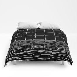 Hand Drawn Grid Comforters