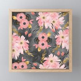 Night Meadow Framed Mini Art Print