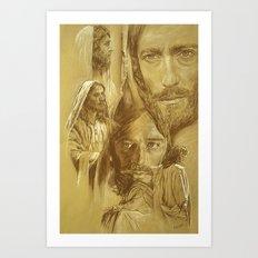 Jesus Art Print