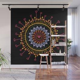 Mandala hand 1 Wall Mural