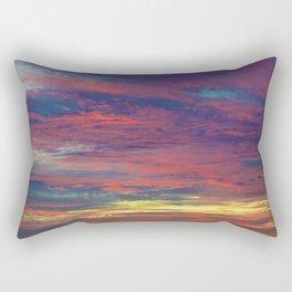 Cotton Candy coloured sky Rectangular Pillow