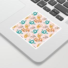 Snake Pattern Sticker