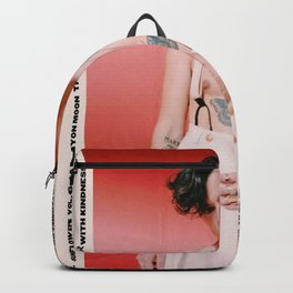 Har-ry Styles Love on Tour Print Backpack