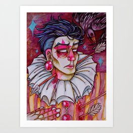 Just Another Love Martyr Art Print