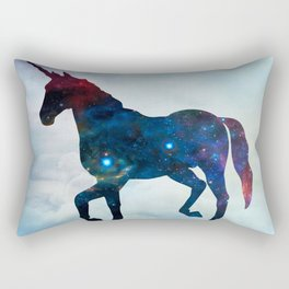 Galactic Unicorn Rectangular Pillow