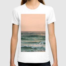 Pink Skies Ocean Vibes T-shirt