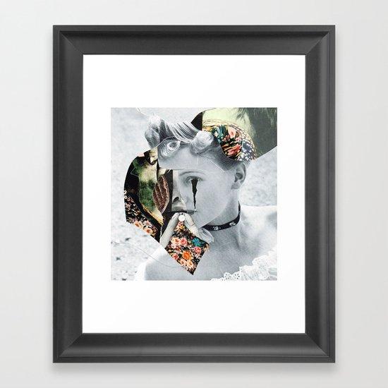 ///// (Bela Lugosi's Dead ) Framed Art Print