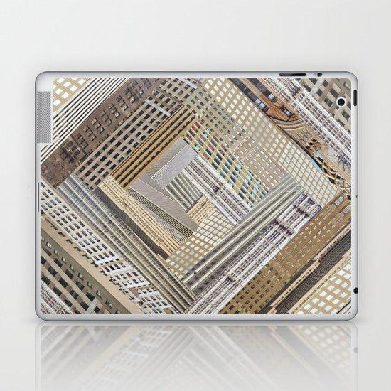 Skyscraper Quilt Laptop & iPad Skin