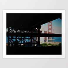 Beneath the Standard. Above the Expectations. Art Print