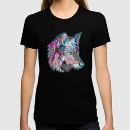 Colorful Wolf T-shirt
