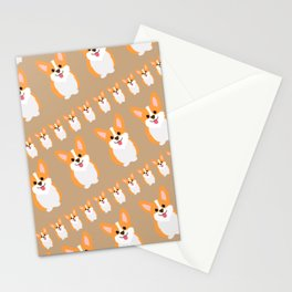 pack of corgos Stationery Cards