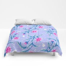 Queen of the Night - Mauve / Pink Comforters