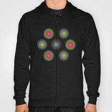 transparent floral patterns 2 Hoody