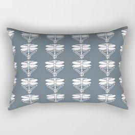 Blue Bayoux Arts and Crafts Dragonflies Rectangular Pillow