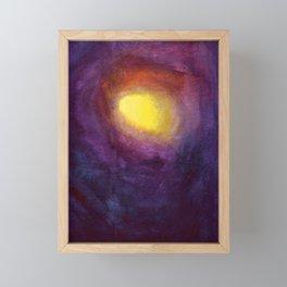 Purple Night Framed Mini Art Print