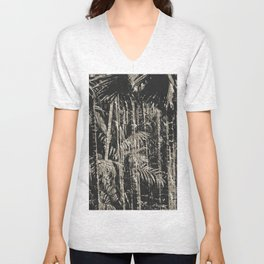 Tropical Forest Unisex V-Neck