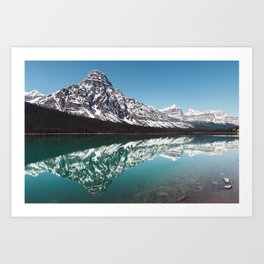 Reflection in the Rockies Art Print