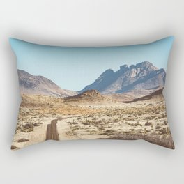 The Lost Highway III Rectangular Pillow