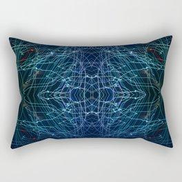 Energy Channels Rectangular Pillow