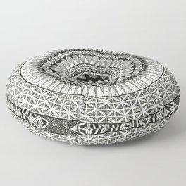 Mandala3 Floor Pillow
